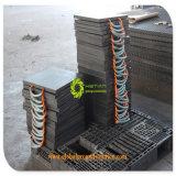 까만 Color HDPE Plastic Crane Truck Outrigger Pad와 잭 Pad/HDPE Outrigger Pads