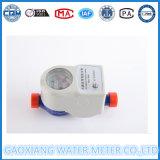 Medidor de água de leitura remota sem fio com amostragem de pulso