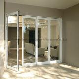 Дверь складчатости цен по прейскуранту завода-изготовителя алюминиевая (FT-D75)