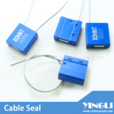 Auto Locking Security Cable Seal com Logo Serial Number (YL-HJ-B1.0)