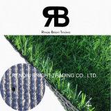 hierba sintetizada de la decoración de 25m m/césped artificial/alfombra artificial de la hierba