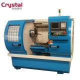 수평한 합금 바퀴 수선 CNC 선반 기계 Awr2840