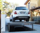 油圧二重階住宅ピットのガレージ車の駐車上昇
