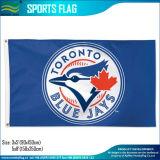 bandierine blu di Jays Toronto del poliestere su ordinazione dei ventilatori di sport della squadra di 3X5FT (J-NF01F09034)