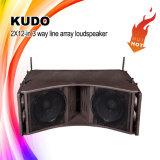 Kudo 3 Spreker van de Serie van de Lijn van het Systeem van de PA van de Manier de Openlucht