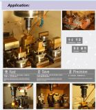 Elétrodo de alumínio de EDM que aperta o suporte para a fatura da modelagem por injeção