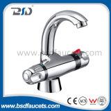 Robinet thermostatique de lavage de bassin de bassin de jet de salle de bains neuve de chrome