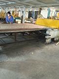Linha de produção semi-automática de lajes de quartzo com máquina de imprensa