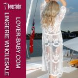 White Lace Beach Cover up (L51312)