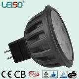 Proyector de 5.5W MR16 LED para el artículo más popular en la exposición de la iluminación de HK