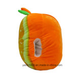 手のための詰められた柔らかいオレンジ枕