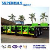 De tri Aanhangwagen/de Oplegger van de Tractor van de Vrachtwagen van de Container van de As 40FT aan het Midden-Oosten