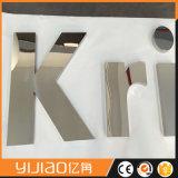 주문을 받아서 만들어진 미러 또는 솔질된 완료 금속 채널 편지 수 알파벳