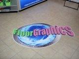 Autoadesivi grafici del vinile della pellicola del pavimento di prezzi bassi per la pubblicità della stampa