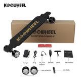 Koowheel Kohlenstoff-Faser-Doppelnaben-Bewegungselektrisches Skateboard für Verkauf