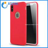 Teléfono color caramelo caso para el iPhone 6 6s tapa móvil para el iPhone 7 de 8 X