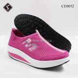 Frauen-Sport-Schuh-Erschütterung bereift beiläufige Schuhe