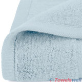 Aquamarine Luxury 100% toalha de mão de bambu