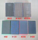 수지와 Electroplated 유형을%s 가진 다이아몬드 손 닦는 패드