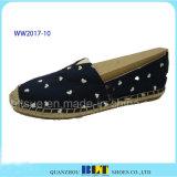 Trame de points de toile de haute qualité chaussures chaussures occasionnel