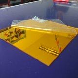 Strato acrilico 1220mm*2440mm dello specchio dorato di alta qualità 2017 3-25 millimetri