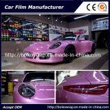 높은 Glossy Car Wrapping Film Candy Color Car Color Change Vinyl 1.52*18m