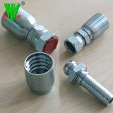 Les pièces du flexible hydraulique le raccord coudé 45 et 90 degré les raccords de flexible hydraulique au système métrique