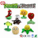 Giocattolo della peluche del gioco del gioco dei capretti di serie delle zombie e delle piante