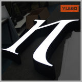 Bekanntmachen System-Firmenzeichens des LED-Facelit
