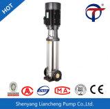 Bomba centrífuga vertical de vários estágios de China para a irrigação doméstica da fonte de água
