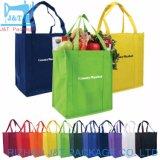 Échantillon gratuit supermarché durables Fold-Able Tote procéder à l'emballage réutilisable personnalisé non tissé de shopping de pliage