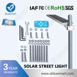 Lâmpada de Rua LED Bluesmart 20W de energia solar para a África da Luz de Estrada