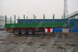 50 Fabriek van de Verkoop van Directa van de tri-Assen van de Aanhangwagen van het Hout van het Nut van de Carrier van de ton de Houten