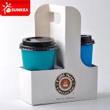 Несущая чашки прессформы пульпы 4 чашек, держатели кофейной чашки