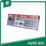 Caixa de empacotamento de papel impressa grande tamanho para a cremalheira aérea do armazenamento