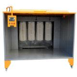 Cabine de pulverizador eletrostática manual do revestimento do pó