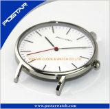 2017の網大きいダイヤルが付いているミラノストラップのステンレス鋼のチャーミングな腕時計