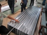 China Gold Supplies Folha de telhado galvanizado de metal ondulado barato