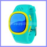 La localización perdida anti de la llamada del reloj SOS embroma a perseguidor del GPS del localizador del buscador del reloj para un teléfono elegante más viejo del reloj del niño