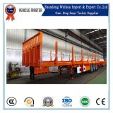 45t de houten Semi Aanhangwagen van het Vervoer van de Fabriek van China