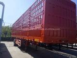 de 3axle Van Semi Trailer 40ton del rectángulo del acoplado del cargo acoplado semi