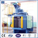 Máquina vendedora caliente del chorreo con granalla de la placa giratoria, equipo de limpieza