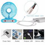 Batterie rechargeable portable pliable Ventilateur de table 4V batterie Li