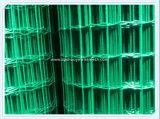 PVC Revestimiento de acero galvanizado Malla de alambre para valla de seguridad