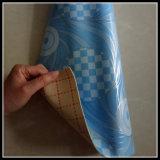 Настил винила PVC затыловки губки для домашнего крытого использования