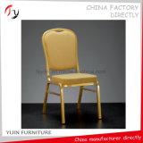 Présidence chaude peu coûteuse d'hôtel de vente de tissu de festival de jaune de type chinois (BC-217)