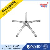 Base de la silla de cinco estrellas hecha por la fundición a troquel de aluminio OEM