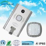 10W-100W Rue lumière LED solaire avec panneau solaire, et de la batterie du contrôleur intégré de lumière solaire de jardin