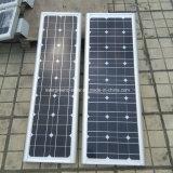 태양 가로등 품목 유형과 알루미늄 램프 바디 물자 LED 가로등