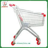 Вагонетка покупкы супермаркета фабрики сразу оптовая (JT-E01)